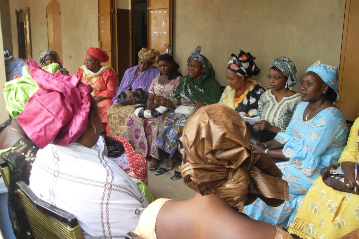 Négociations féminines : bourse de Ségou, AMASSA AV Mali, mars 2012