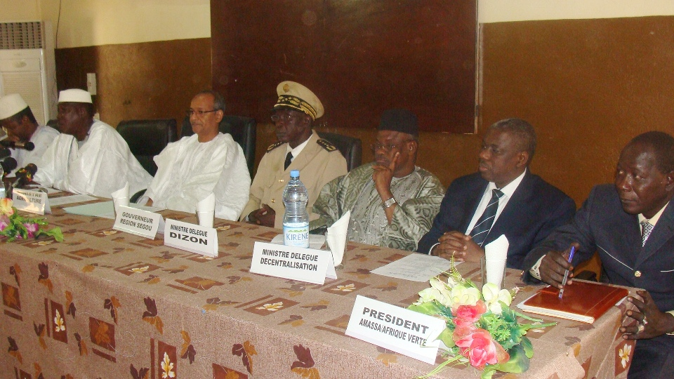 Présidium : bourse de Ségou, AMASSA AV Mali, mars 2012