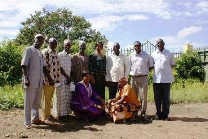 L'équipe d'AGUISSA en Guinée