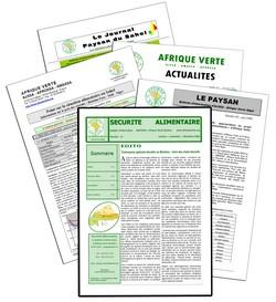 Bulletin Sécurité Alimentaire au Burkina Faso par APROSSA - Afrique Verte Burkina