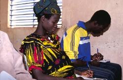 Formation des membres des organisations paysannes au Burkina