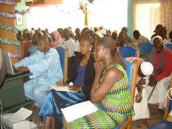 Conférence lors de la bourse aux céréales de décembre 2006.