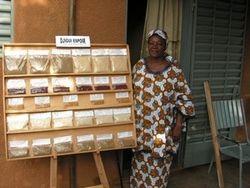 Produits céréaliers transformés par une association féminine de Ouagadougou
