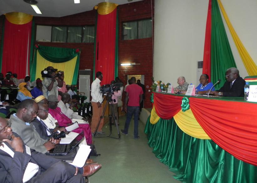 Bourse internationale aux céréales Ouaga, 12-2012, présidium