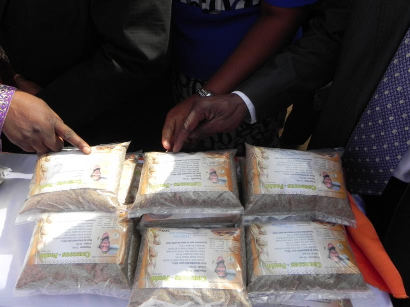 Bourse internationale aux céréales Ouaga, 12-2012, céréales transformées
