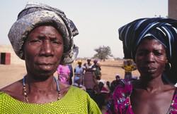 Groupement de femmes au Burkina