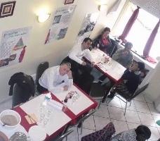 Animation dégustation de fonio dans un restaurant de Lyon
