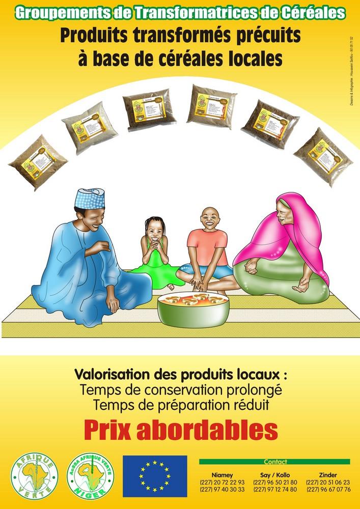 Affiche produits transformés Niger 1