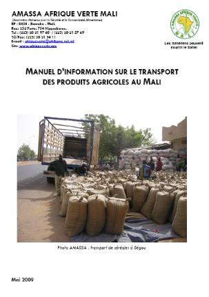 Manuel sur le transport des céréales au Mali