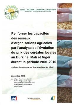 Evolution du prix des céréales au Sahel