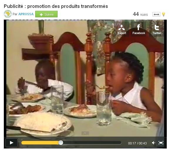 Spot TV 2011 Burkina
