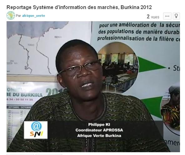 Reportage SIM Burkina