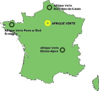 Les comités locaux d'Afrique Verte en France