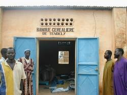 Banque de céréales de Tendely au Mali