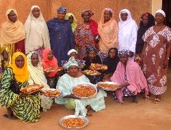 Transformatrices de céréales au Niger, soutenues par Afrique Verte