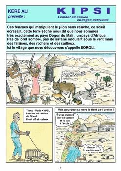 Bande dessinée Kipsi (1)