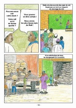 Bande dessinée Kipsi (2)
