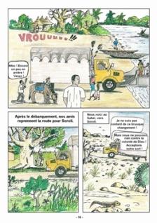 Bande dessinée Kipsi (3)