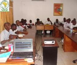 Formation au Centre à Bamako