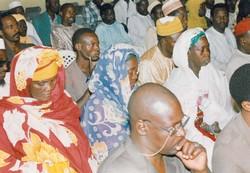 Information des opérateurs lors d'une bourse aux céréales au Niger