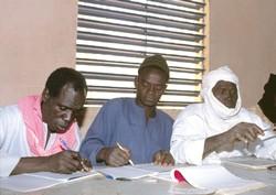 Formation des organisations paysannes au Niger