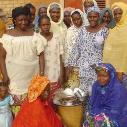 Groupement de transformatrices de céréales à Niamey