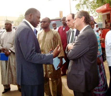 Bassirou Nouhou, Coordinateur Afrique Verte au Niger, bourse internationale de Niamey, mars 2012