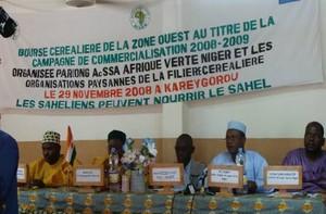 Bourse 2009 au Niger