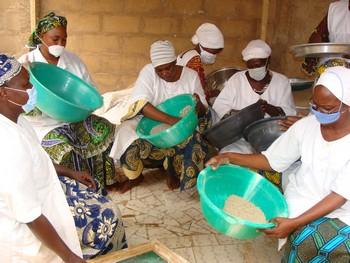 Formation des transformatrices de céréales à Niamey